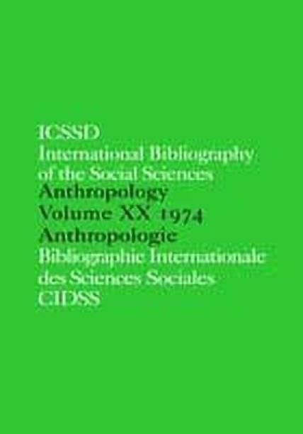 IBSS: Anthropology: 1974 Vol 20