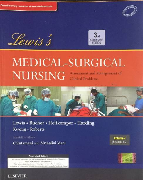 Lewis's Medical-Surgical Nursing, Third South Asia Edition