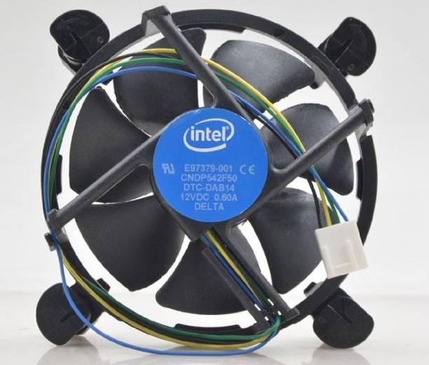Intel FAN10006COOL INTELCPU Cooler for LGA1150 1155 1156 ( i3 i5 i7) Cooler (Black) Cooler