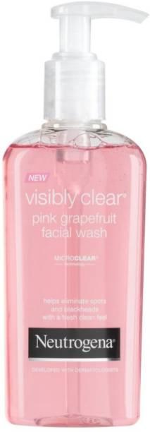 NEUTROGENA Visibly Clear Pink Grapefruit Facial Wash Face Wash