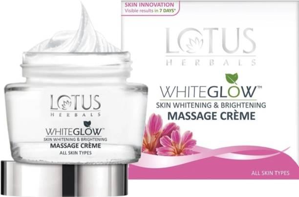 LOTUS HERBALS WhiteGlow Skin Whitening & Brightening Massage Creme
