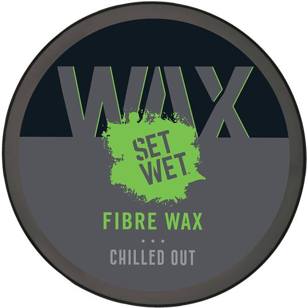 SET WET Fibre Wax for Extra Hair Volume, Strong Hold & Matte Finish, No Sulphate, No Alcohol, No Paraben Hair Wax