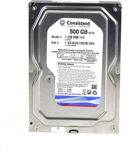 Consistent 500gb 500 GB Desktop Internal Hard Disk Drive (500gb)