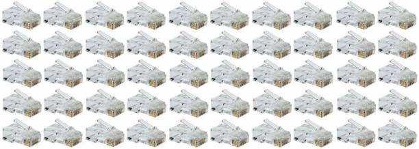 D-Link DLink RJ45 Connector Module Plugs - Pack of 50 Nos Network Interface Card