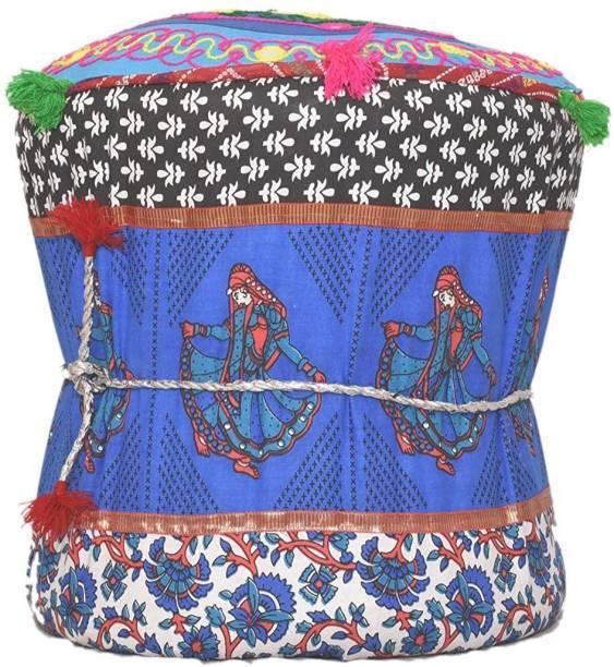 ASHA Bamboo Standard Ottoman