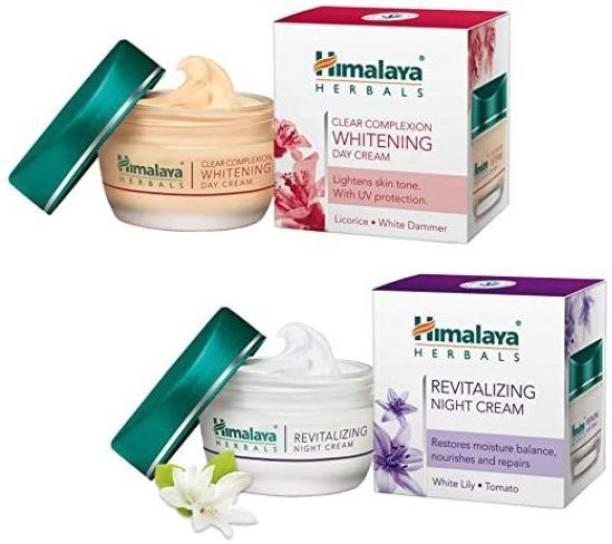 HIMALAYA Luxurious Cream-Revitalizing Night Cream 50ml & Day Cream 50ml