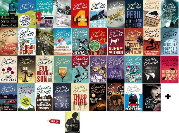 Complete Collection Of Hercule Poirot Books By Agatha Christie + Free Hercule Poirot: The Life And Times Of Hercule Poirot