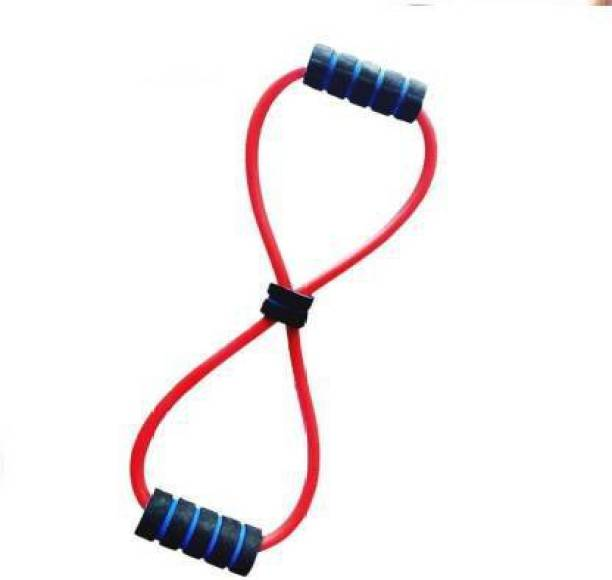 tree fit Double Resistance Tube For Men And Women For Home Gym Resistance Tube Resistance Tube