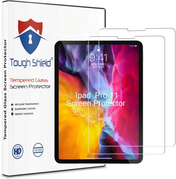 TOUGH SHIELD Tempered Glass Guard for Apple iPad Pro 11 inch