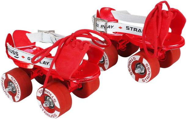 Strauss Baby Quad Roller Skates - Size Adjustable UK