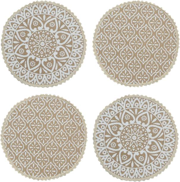 Saral Home Round Pack of 4 Table Placemat