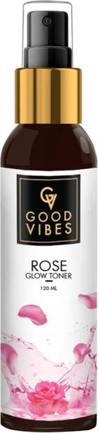 GOOD VIBES Rose Face Toner Mist (Unisex) Women