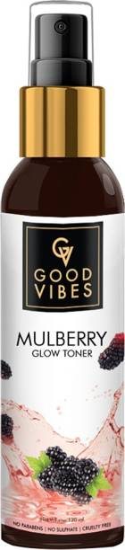GOOD VIBES Glow Toner - Mulberry (120 ml) Men