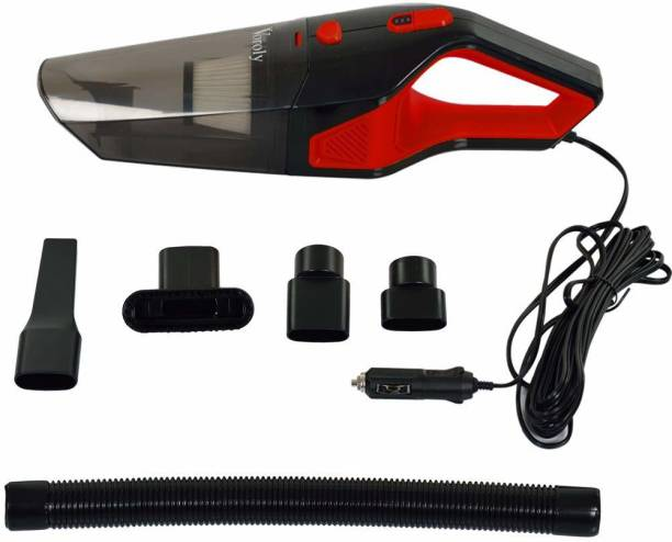 Lyrovo 5000PA Voroly High Power Handheld Car Vacuum Cleaner for Car Dry and Wet DC12V (SS HEAP Filter) Car Vacuum Cleaner