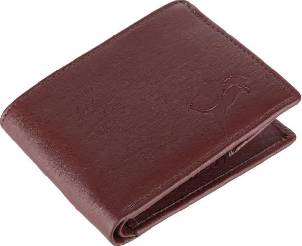 WILD EDGE Boys Brown Artificial Leather Money Clip
