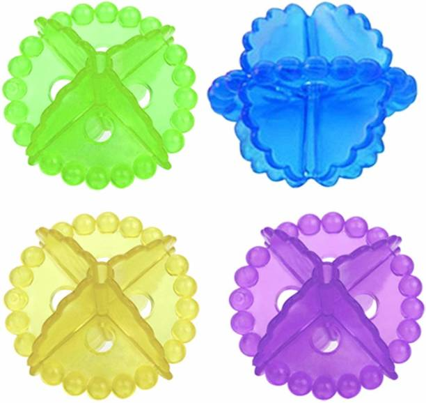 Coozico Washing Machine Ball Laundry Dryer Ball Durable (pack of 4) Detergent Bar