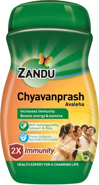 Zandu Chyavanprash Avaleha with Balm