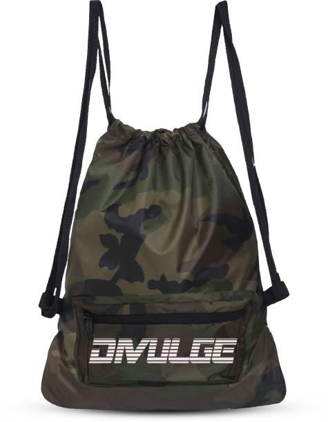divulge Drawstring Bag Yoga Bag sport bags and gym bags With Zip Pocket