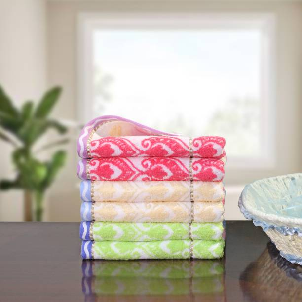 UpLoom Terry Cotton 400 GSM Hand, Face Towel Set