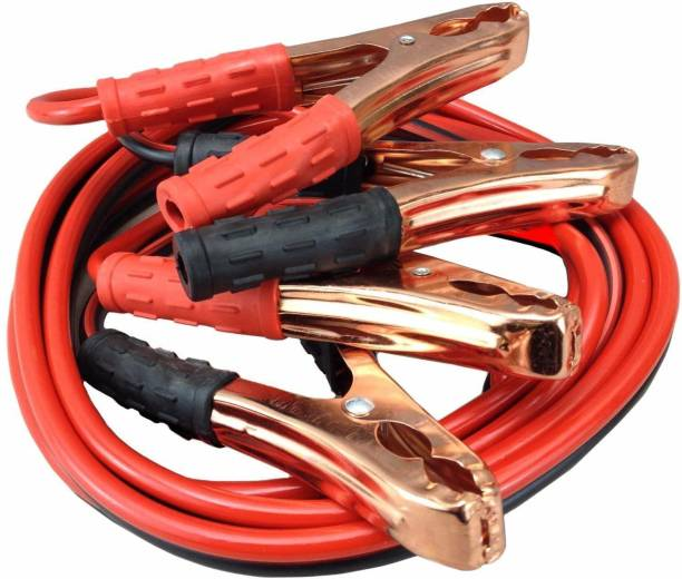 Campark High Performance Car Heavy Duty Jumper Cable Leads Battery Booster For All Cars (500 Amp) 10 ft Battery Jumper Cable