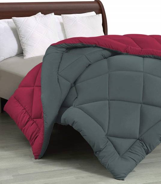 BetaDivine Solid Double Comforter