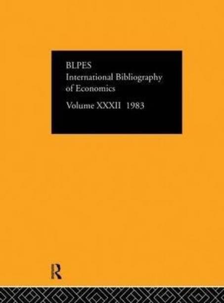 IBSS: Economics: 1983 Volume 32