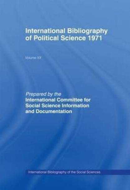 IBSS: Political Science: 1971 Volume 20
