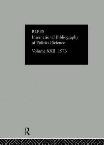 IBSS: Political Science: 1973 Volume 22