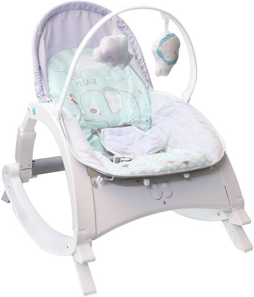 Fiddlys Newborn to Toddler Rocker Chair with Music and Vibration Function, Adjustable Mode, Rocker