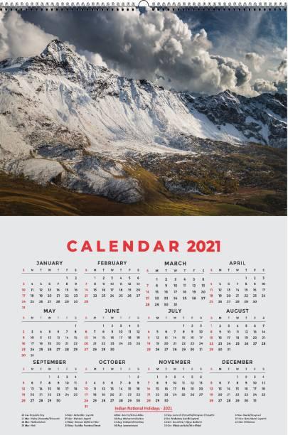 HD RAPID DESIGN Wall Calendar, Hanging Calendar (24 x 36 inch) for office, home_026 2021 Wall Calendar