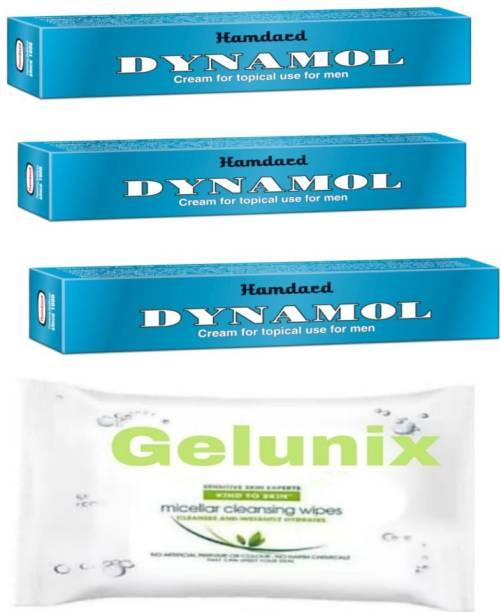 gelunix wipes and dynamol cream