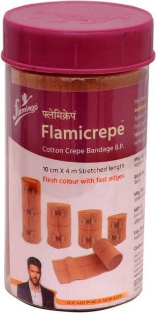 FLAMINGO FLAMICREPE 10CM X 4MT Crepe Bandage