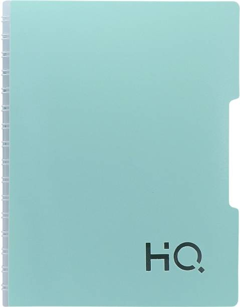 NAVNEET HQ Single Subject Book (A5 Size) Mint Green A5 Diary Single Ruled 160 Pages