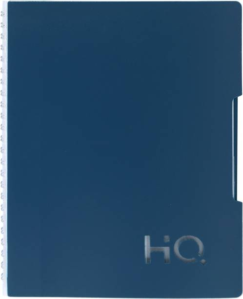 NAVNEET HQ Five Subject Book (B5 Size) Black&Blue B5 Diary Single Ruled 300 Pages