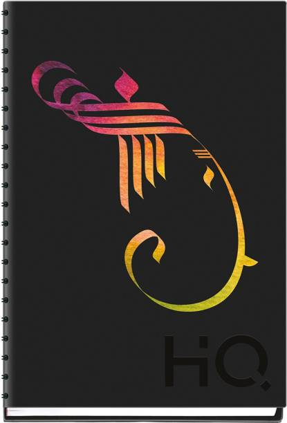 NAVNEET HQ My Notes (A6 Size) - Ganesha Series A6 Diary Single Ruled 192 Pages