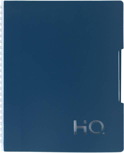 NAVNEET HQ Single Subject Book (A5 Size) Blue A5 Diary Single Ruled 160 Pages