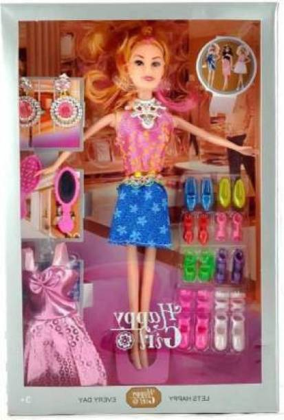 CTC CREATION HAPPY GIRL DOLL SERIESHappy doll (Multicolor)