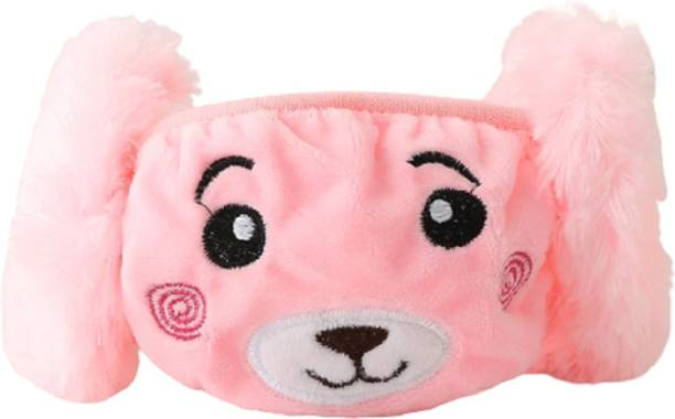 Nyamah sales Winter Face Mask with Ear Muffs for Kids Washable Anti Dust Protective Mask Cotton Cartoon Face Cover Warm Mask for Boys and Girls Children Multicolor Dust-Proof Mask Cloth Mask Ear Muff