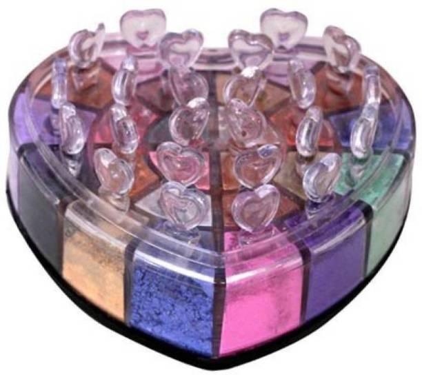 Ranen Professional Eye Shadow Shimmering Powder ( 18 Multicolor ) 18 g