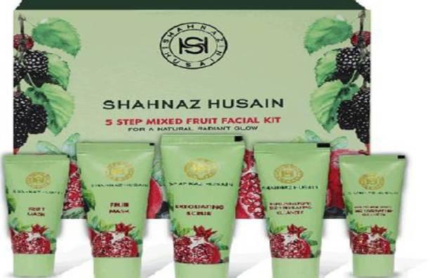 Shahnaz Husain Step Mix Fruit Facial Kit
