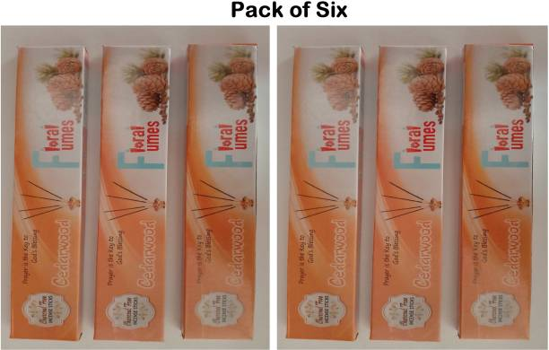 FLORAL FUMES Herbal incense sticks (Cedarwood) Cedarwood