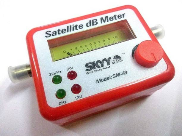 PAC Digital Satellite Signal Finder Meter for Signal Strength Dish, Satelite TV Non-magnetic Non-magnetic Electronic Level