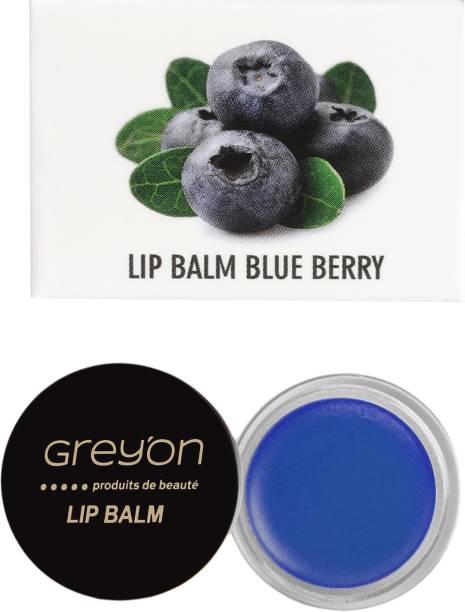 Greyon Blue Berry Lip Balm Blue berry