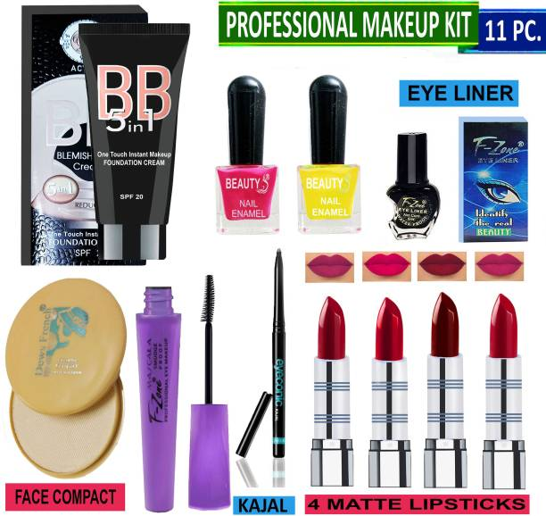 AMLY All In One Makeup kit For Modern Women And Beautiful Girls VK04