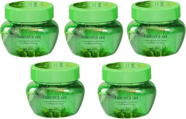 Aryanveda Aloevera Gel For Face & Body (Pack of 5)