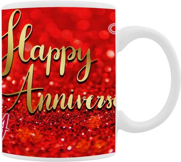 Shree Rani Sati Digital Happy Marriage Anniversary Ceramic Coffee Mug