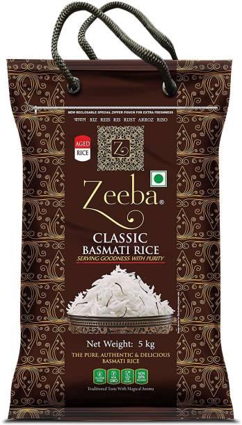 Zeeba Classic Basmati Rice (Long Grain, Raw)