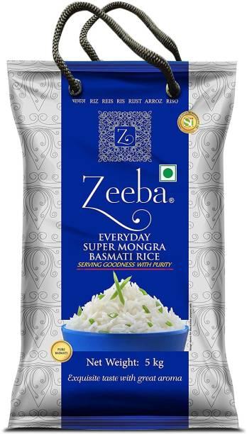 Zeeba Everyday Super Mongra Basmati Rice (Steam)