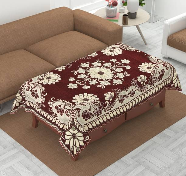 Luxury Crafts Self Design 4 Seater Table Cover