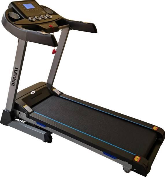 Durafit Tiger 2.0 HP (Peak 4.0 HP) DC Motorized Auto-Incline Treadmill
